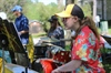 Steely Pan Steel Drum Band performs at library